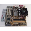 Asus P4SD-LA Socket 478 Motherboard With Intel Pentium 3.00 GHz Cpu