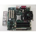 Intel D865GLC C27499-411 Socket 478 Motherboard With Intel Pentium 4 3.0 GHz Cpu