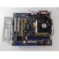 Foxconn A6VMX Socket AM2 Motherboard With Athlon X2 Dual Core 5200 2.60 GHz Cpu