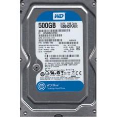 """Job Lot 10x Western Digital WD5000AAKX - 60U6AA0 500Gb 3.5"""" Internal SATA Hard Drives"""