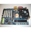Gigabyte GA-8SR533P REV:3.0 Socket 478 Motherboard With Intel Pentium 2.40 GHz Cpu