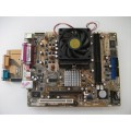 Asus K8ST REV 1.02 Socket 754 Motherboard With Sempron 3000 1.80 GHz Cpu