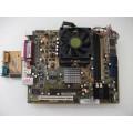 Asus Socket 754 K8ST/DP R2.00 Motherboard With AMD Sempron 2800 1.60 GHz Cpu