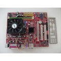 MSI K9N6SGM-V MS-7309 Socket AM2 Motherboard With AMD Athlon X2 Dual Core 4800 Cpu
