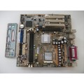 FIC D33007 VG31-L Socket 478 Motherboard With Intel Pentium 2.40 GHz Cpu