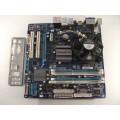 Gigabyte GA-EG41MFT-US2H Motherboard With Intel Core 2 Duo E7400 2.80 GHz Cpu