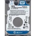 """Western Digital WD5000LPVX - 22V0TT0 500Gb 2.5"""" Laptop SATA Hard Drive"""