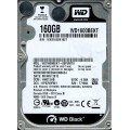 "Western Digital WD1600BEKT - 00PVMT0 160Gb 2.5"" Laptop SATA Hard Drive"