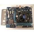 Gigabyte GA-H61M-S2-B3 Skt 1155 Motherboard With Intel Celeron 2.50 GHz Cpu
