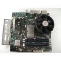 Intel DQ45CB E51804-201 Motherboard With Intel Dual Core E2180 2.00 GHz Cpu