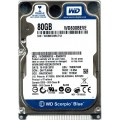 "Western Digital WD800BEVE - 00A0HT0 80Gb 2.5"" Laptop IDE PATA Hard Drive"