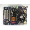 Asrock N68PV-GS AM2 Motherboard With AMD Athlon X2 Dual Core 5000+ 2.60 GHz Cpu