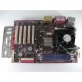Jetway PT800DBP Socket 478 Motherboard With Intel Celeron 2.40 GHz Cpu