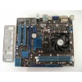Asus M4A78LT-M LE Socket AM3 Motherboard With AMD Sempron 140 2.70 GHz Cpu