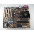 Asus Socket 754 K8N Motherboard With AMD Sempron 3400 Cpu