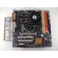 Asrock ALiveNF7G-HDready Skt AM2 Motherboard With AMD Athlon X2 Dual Core 4200 Cpu