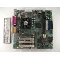 Gigabyte GA-6WMM7 Socket 370 Motherboard With Intel Pentium 3 733 MHz Cpu