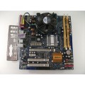 Asrock Conroe 1333-D667 Socket 775 Motherboard With Dual Core E2180 2.00 GHz Cpu