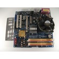 Asrock ConRoe945G-DVI Socket 775 Motherboard With Intel Core 2 Duo E6600 2.40 GHz Cpu