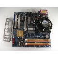 Asrock ConRoe945G-DVI Socket 775 Motherboard With Intel Dual Core E2200 2.20 GHz Cpu