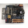 Asrock ConRoe945G-DVI Socket 775 Motherboard With Intel Dual Core E2160 1.80 GHz Cpu