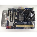Asrock G31M-S Socket 775 Motherboard With Intel Core 2 Duo E5700 3.00 GHz Cpu