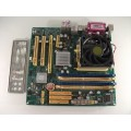 Jetway 939GT3-PTD-LF Socket 939 Motherboard With AMD Athlon 3200 2.00 GHz Cpu