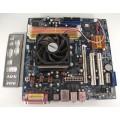 Asrock AM2NF6G-VSTA Socket AM2 Motherboard With AMD Athlon 3800 Cpu