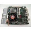 Intel i45GMt-HR ITX Motherboard With Intel T3500 2.10 GHz Cpu