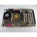 Gigabyte GA-7IXEH Socket A (462) Motherboard With AMD Athlon 1100 Cpu