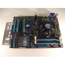 Asus P8B75-V Socket 1155 Motherboard With Intel i3 3220 3.30 GHz Cpu