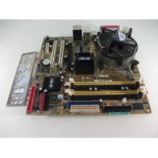 Asus P5LD2-VM DH Socket 775 Motherboard With Intel Core 2 Duo E6420 2.13 GHz Cpu