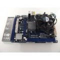 Asrock G41M-VS3 Socket 775 Motherboard With Intel Core 2 Duo E8400 3.00 GHz Cpu