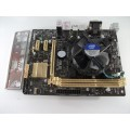 Asus H81M-E Socket 1150 Motherboard With Intel i3-4150 3.50 GHz Cpu