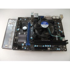 MSI H61M-P31/W8 Motherboard With Intel Pentium G 640 2.80 GHz Cpu
