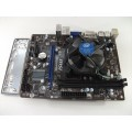 MSI H81M-P33 Socket 1150 Motherboard With Intel i5-4460 3.20 GHz Cpu