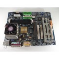 Gigabyte GA-7VRXP Socket A (462) Motherboard With AMD Athlon 1200 Cpu