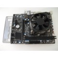 Asrock H61M-DG3/USB3 Socket 1155 Motherboard With Intel i7 2600 3.40 GHz Cpu