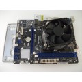Asrock H61M-DGS Socket 1155 Motherboard With Intel i7 2600 3.40 GHz Cpu