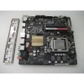 Asus H110T Mini-ITX Motherboard With Intel Pentium Dual Core G4400 3.30 GHz
