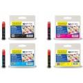 Jet Tec Epson Ink T1291/ T1292/ T1293/ T1294 Black, Cyan, Magenta, Yellow