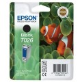 Genuine Epson Ink Cartridge T026 Black