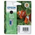 Genuine Epson Ink Cartridge T026 Black