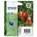 Genuine Epson Ink Cartridge T027 Colour