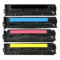 HP Xinia Laserjet CP2025 Set Of 4 Compatible Toner Cartridges CC530A, CC531A, CC532A, CC533A