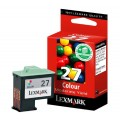 Lexmark 27 Genuine Original Colour Cartridge