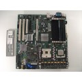 Intel SE7520BD2 D10352-401 Server Board With Intel Xeon 3.40GHz CPU & 4GB Memory