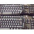 Job Lot 8x Dell L100, KB1421 Black USB Keyboards