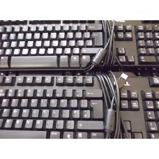 Job Lot 14x Dell L100 0UY780 Black USB Keyboards