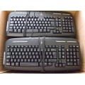 Job Lot 9x Logitech Y-SAE71 SK-2930 820-000357 PS2 Keyboards